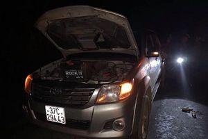 Nghệ An: Truy tìm ô tô gây tai nạn 2 người thương vong rồi bỏ trốn