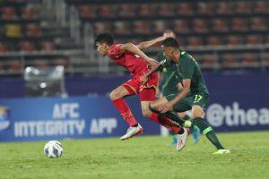 Hòa tẻ nhạt, U23 Australia đứng đầu bảng A