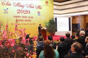 Gặp mặt Đoàn Ngoại giao nhân dịp Tết Nguyên đán Canh Tý 2020