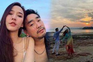 'Nữ hoàng giải trí' Aum Patchrapa và bạn trai ngọt ngào bên nhau, nắm tay và nhảy múa trên biển lãng mạn