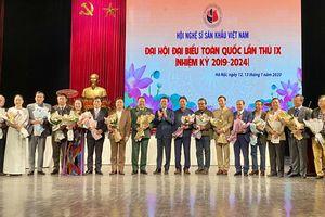NSND Trịnh Thúy Mùi là Chủ tịch Hội Nghệ sĩ sân khấu Việt Nam