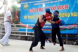 11 đơn vị tham dự Giải trẻ và vô địch võ thuật cổ truyền tỉnh 2019