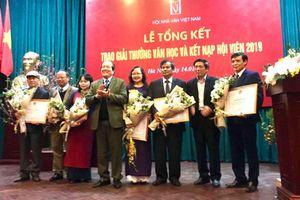 Trao 8 giải Hội Nhà văn Việt Nam năm 2019
