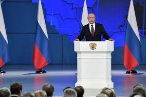 Ông Putin đề xuất trưng cầu dân ý để sửa Hiến pháp