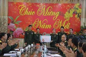 Lãnh đạo Tổng cục Chính trị thăm và chúc Tết các đơn vị