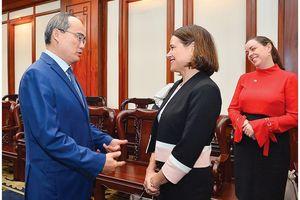 TPHCM muốn cùng Australia xây dựng chiến lược hợp tác kinh tế