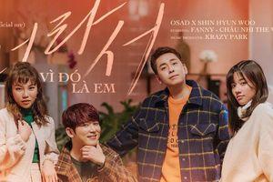 Ca khúc của rapper OSAD xuất hiện trên hàng loạt trang nghe nhạc Hàn Quốc