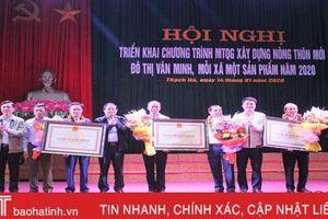 Thạch Hà phấn đấu huyện đạt chuẩn nông thôn mới trước thềm đại hội Đảng