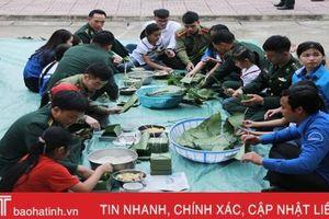 Rộn ràng Xuân biên giới 2020 tại huyện miền núi Hương Khê