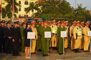 Quảng Bình: Tổ chức Lễ ra quân 'Năm An toàn giao thông 2020'.