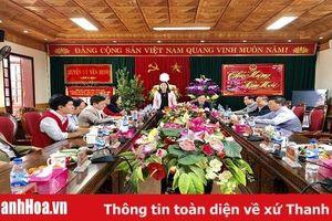 Chủ tịch Ủy ban MTTQ tỉnh thăm, chúc Tết và tặng quà gia đình chính sách huyện Yên Định