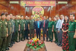 Bộ Tư lệnh Lục quân - Quân đội Hoàng gia Campuchia chúc Tết lãnh đạo TP Cần Thơ