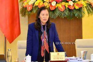Phó Chủ tịch Quốc hội Uông Chu Lưu chủ trì buổi làm việc Đoàn giám sát của Quốc hội với Chính phủ về Việc thực hiện chính sách, pháp luật phòng, chống xâm hại trẻ em