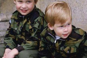 Trước khi đột ngột rời khỏi hoàng gia Anh, Hoàng tử Harry đã có tuổi ấu thơ ngọt ngào bên anh trai như thế này