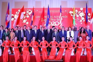 Bộ trưởng Nguyễn Ngọc Thiện tiếp các Đại sứ nước ngoài tại Việt Nam nhân dịp Tết Canh Tý 2020