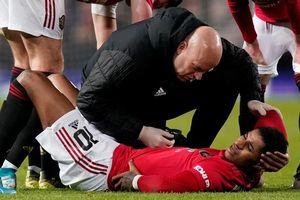 Rashford chấn thương trước thềm đại chiến Liverpool