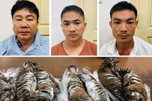 Lĩnh 6 năm tù giam vì buôn bán hổ xuyên quốc gia
