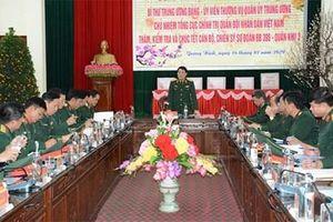 Đại tướng Lương Cường thăm, kiểm tra và chúc Tết tại Sư đoàn 395, Quân khu 3