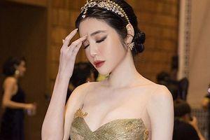 Elly Trần đăng status tâm trạng sau sự cố ngã quỵ trên thảm đỏ