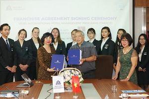 ĐH Hoa Sen được quyền khai thác các chương trình Vatel