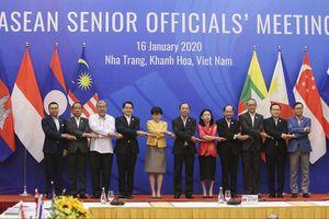 Toàn cảnh cuộc họp SOM ASEAN 2020 tại Nha Trang