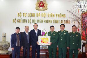 Ban Dân vận Trung ương thăm, chúc tết cán bộ, chiến sỹ BĐBP Lai Châu