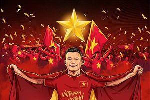 Ảnh chế: Cổ động viên 'căng thẳng' tính toán cửa đi tiếp cho U23 Việt Nam