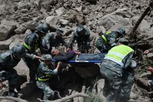 Trung Quốc: Động đất độ lớn 5,6 xuất hiện tại khu tự trị Tân Cương