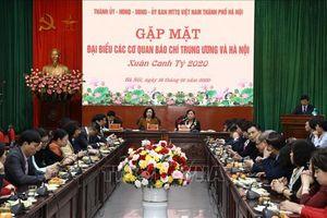 Báo chí đóng góp tích cực cho sự phát triển chung của Thủ đô