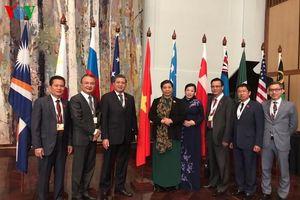 Phó Chủ tịch Quốc hội Tòng Thị Phóng kết thúc chuyến tham dự APPF-28