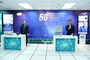 Thực hiện thành công cuộc gọi bằng thiết bị 5G của Việt Nam
