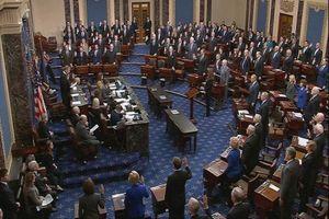 Hình ảnh đầu tiên về phiên tòa luận tội Tổng thống Trump tại Thượng viện