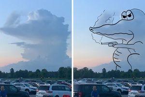 Choáng ngợp khoảnh khắc mẹ thiên nhiên dùng mây ghẹo con người