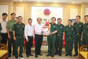 Lãnh đạo tỉnh Bình Phước thăm, chúc tết cơ quan Thường trực Bộ Tư lệnh BĐBP