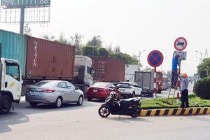 Cấm xe tải 3 trục qua cầu Rạch Miễu theo khung giờ cao điểm