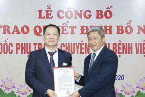 Bổ nhiệm BS Dương Đức Hùng làm Phó Giám đốc phụ trách chuyên môn BV Bạch Mai
