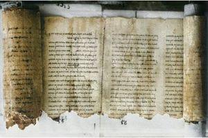Giải mã về cuộn sách Biển Chết nguyên vẹn suốt trăm năm