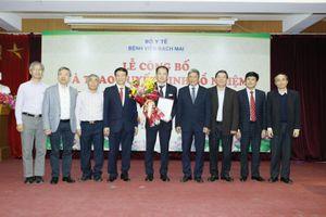 Bệnh viện Bạch Mai có tân Phó Giám đốc