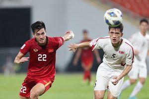 Chịu thúc thủ 1-2 trước Triều Tiên, U23 Việt Nam không thể tái lập kỳ tích 2018