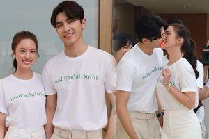 Bộ phim 'Prao Mook' khai máy nhưng đáng chú ý nhất lại là trò chơi của Pon Nawasch - Bua Nalinthip
