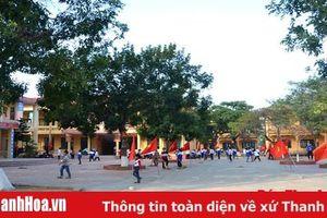 Xây dựng trường học đạt chuẩn quốc gia ở huyện Hậu Lộc