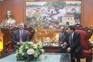 Tổng Giám đốc Nguyễn Thế Kỷ tiếp Đại sứ Mỹ tại Việt Nam