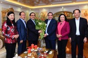 Lãnh đạo thành phố Hà Nội chúc Tết các đồng chí nguyên lãnh đạo Đảng, Nhà nước