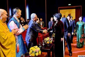 {Trực tiếp} Phó Chủ tịch nước chúc Tết kiều bào và giao lưu nghệ thuật Xuân Quê hương