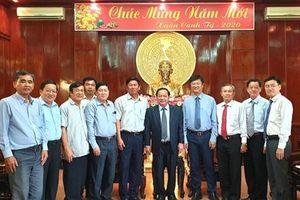 Tổng Giám đốc Cảng Phnom Penh chúc Tết lãnh đạo TP Cần Thơ