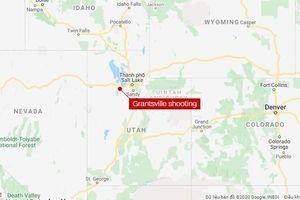 Xả súng tại Utah (Mỹ), 4 người thiệt mạng