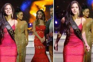 Người đẹp Colombia chỉ trích BTC Miss Global ngay trên sân khấu