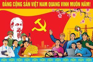 Trao Huy hiệu Đảng cho đảng viên cao tuổi Đảng