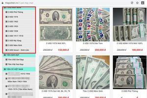 Dân tình đua nhau mua tiền may mắn 2 đôla Mỹ... có phạm luật?