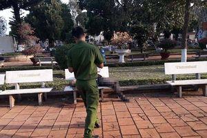 Tá hỏa phát hiện người đàn ông tử vong trên ghế đá hoa viên ở Đắk Lắk